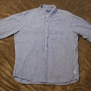 J Crew Checked Long Sleeve Button Down
